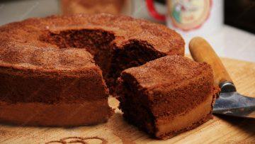 کیک شیفون کاکائویی