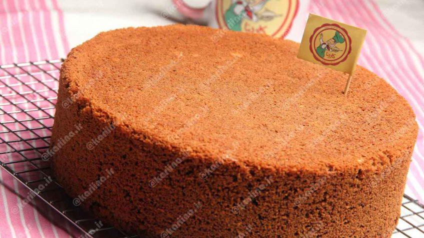 کیک اسفنجی شکلاتی