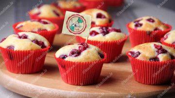 کاپ کیک آلبالو