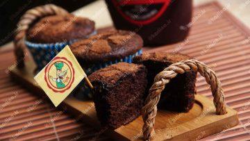 کاپ کیک دبل چاکلت