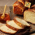 نان باترمیلک و عسل