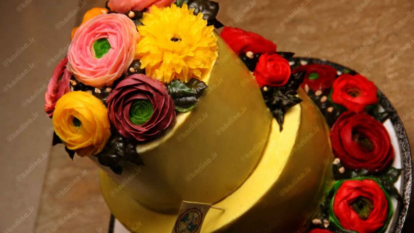 پکیج خمیر مخصوص پایپینگ (تزیین کیک با گل)